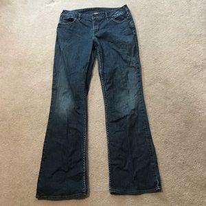 Silver Julia Jeans